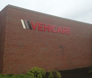 VEHICARE Dimentional Sign